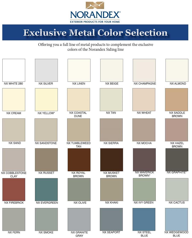 Norandex Colors image