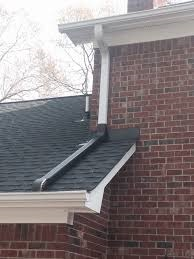 Downspouts to blend in with shingles
